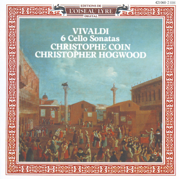 VIVL:CELLO CONCERTOS          : COIN HOGWOOD