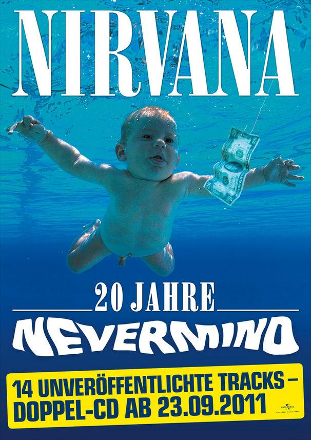 Nirvana, Gewinnspiel: Echte Dollars auf Nevermind-Plakaten