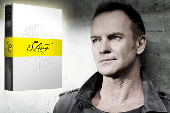 Sting - 25 Years Box - UMG Top Story