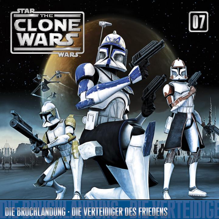 The Clone Wars - 07: Die Bruchlandung / Die Verteidiger des Friedens