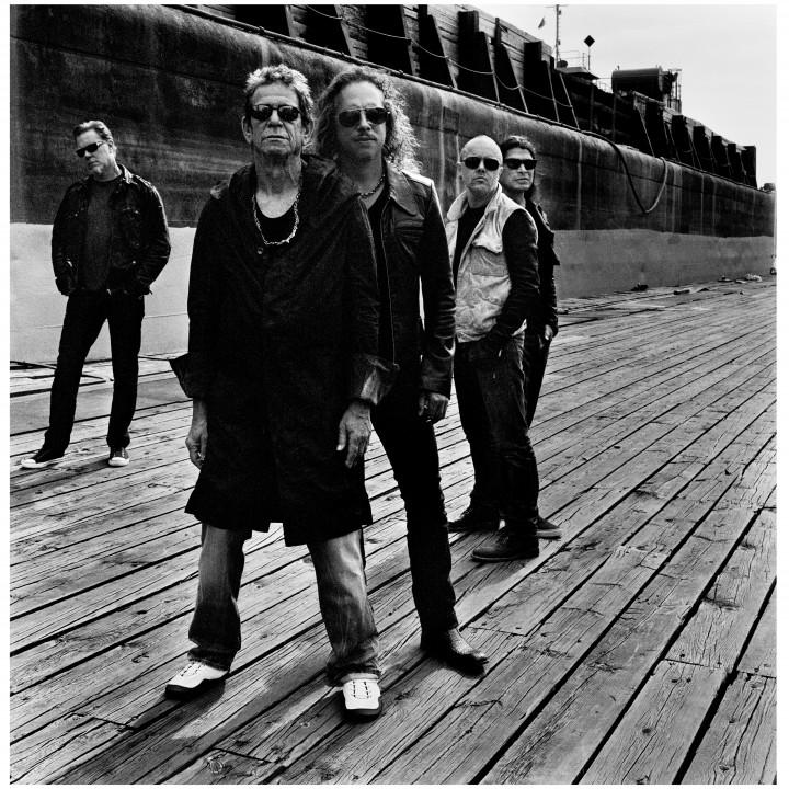 Lou Reed & Metallica Pressebilder 3/2011
