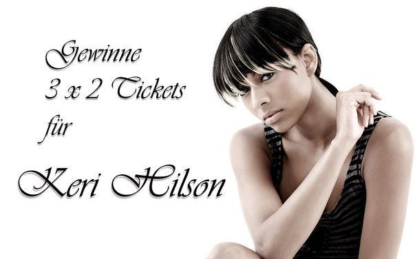 Keri Hilson, Gewinne 2 Tickets für Keri Hilson