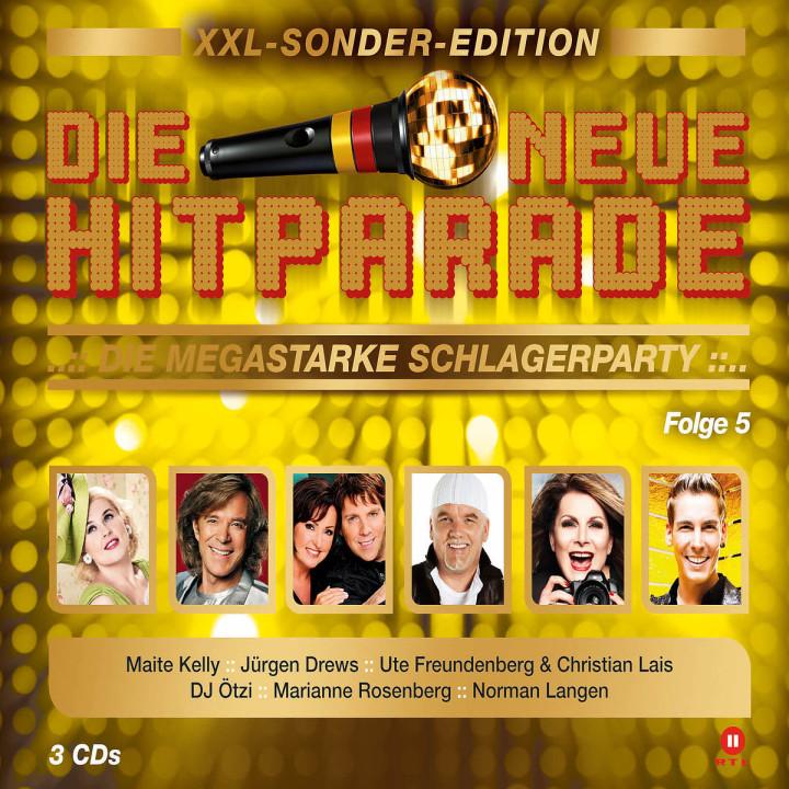 Die neue Hitparade Folge 5 - XXL Sonder-Edition: Various Artists