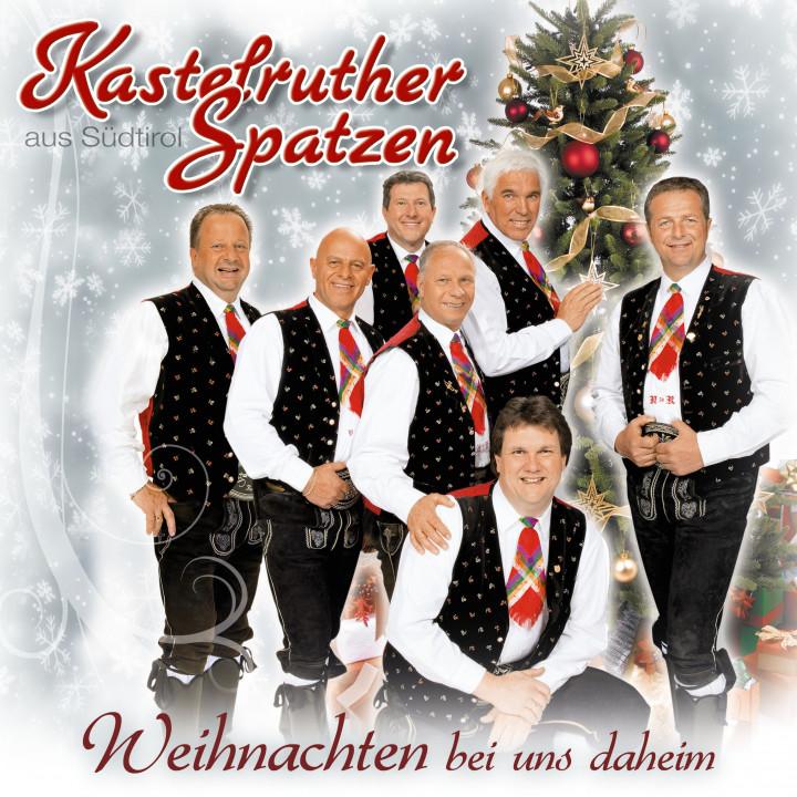 Cover_Kastelruther Spatzen_Weihnachten bei uns daheim