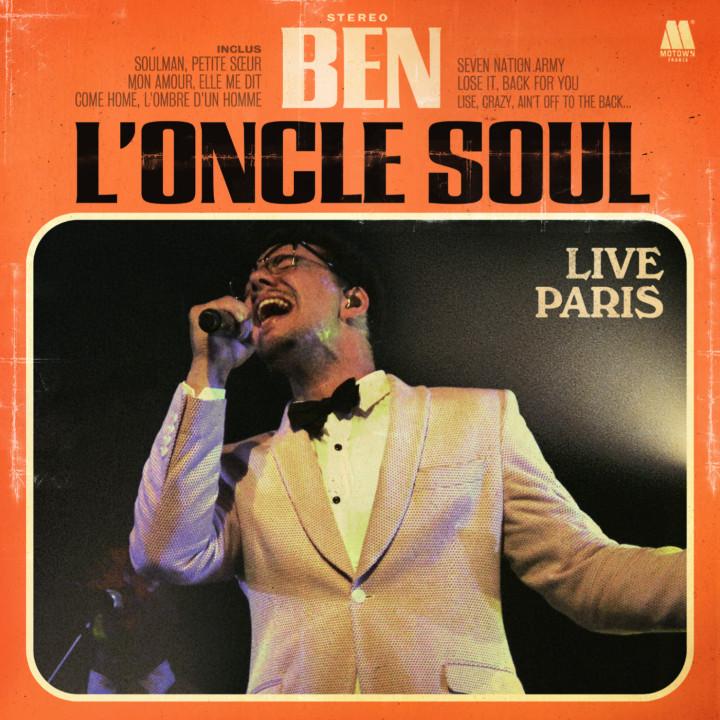 Cover_Ben L' Oncle Soul_Live Paris