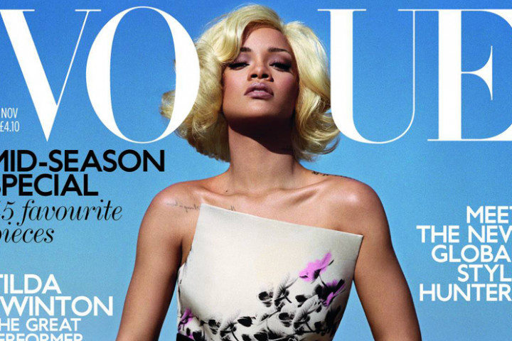 Vogue UK Cover 10/2011