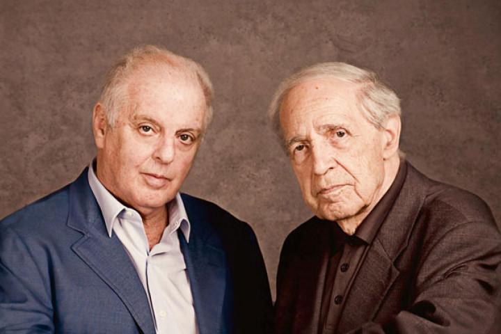 Daniel Barenboim und Pierre Boulez