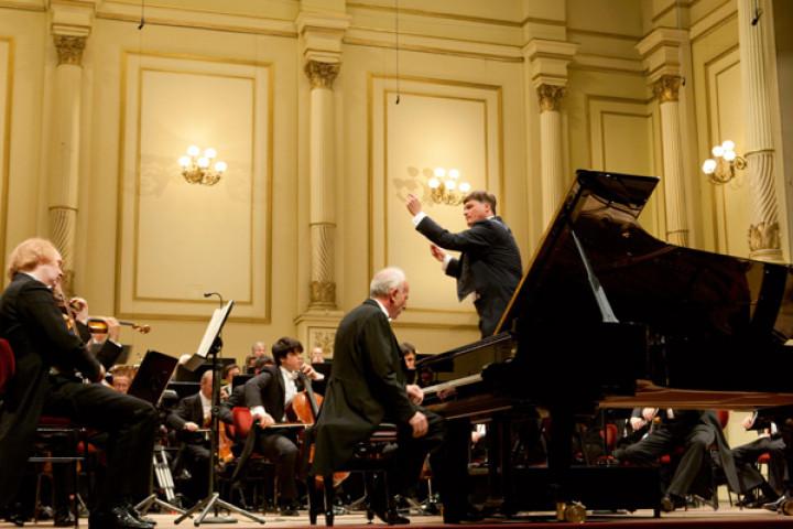 Maurizio Pollini und Christian Thielemann