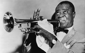 Louis Armstrong, Kuriose Netzfundstücke - Armstrong und sein Mätzchenorchester