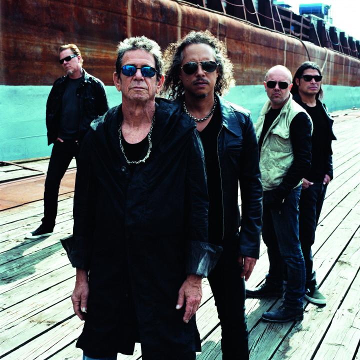 Lou Reed & Metallica Pressebilder 4/2011