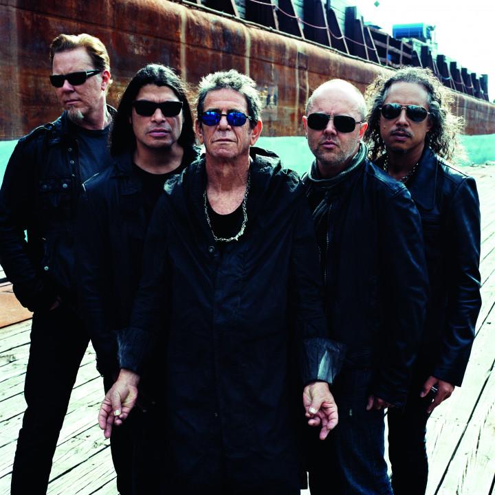 Lou Reed & Metallica Pressebilder 05/2011