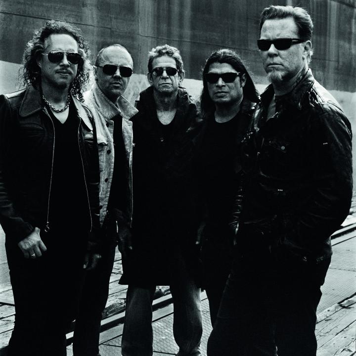 Lou Reed & Metallica Pressebilder 06/2011