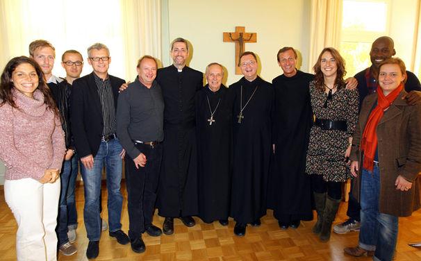 Die Priester, Die Priester präsentieren ihr Album Spiritus Dei im Kloster St. Ottilien