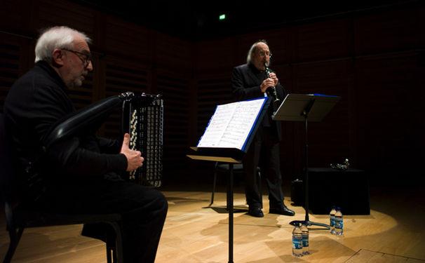 ECM Sounds, Offenbachiaden mit italienischem Akzent - Gianluigi Trovesi & Gianni Coscia