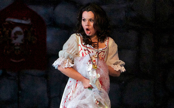 Aleksandra Kurzak, Aleksandra Kurzak begeistert in Donizettis Lucia di Lammermoor