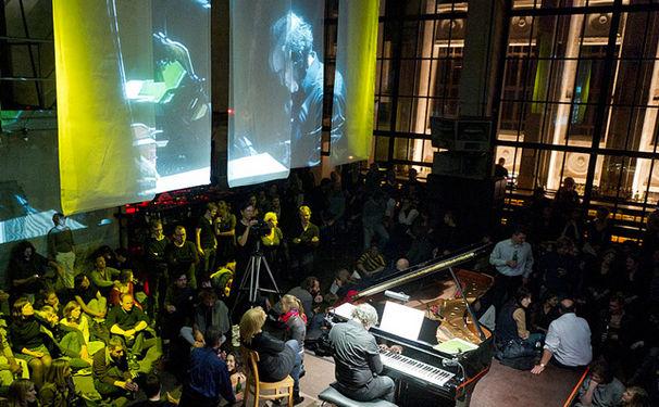Pierre-Laurent Aimard, Pierre-Laurent Aimard mit Franz Liszt in der Yellow Lounge und auf Arte