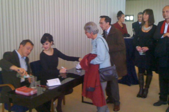 Anna Prohaska bei der Liedmatinée im Schillertheater 2011