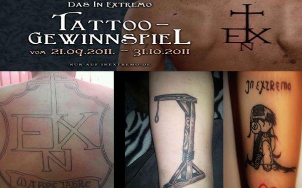 In Extremo, Tattoo-Contest: Das Voting ist eröffnet