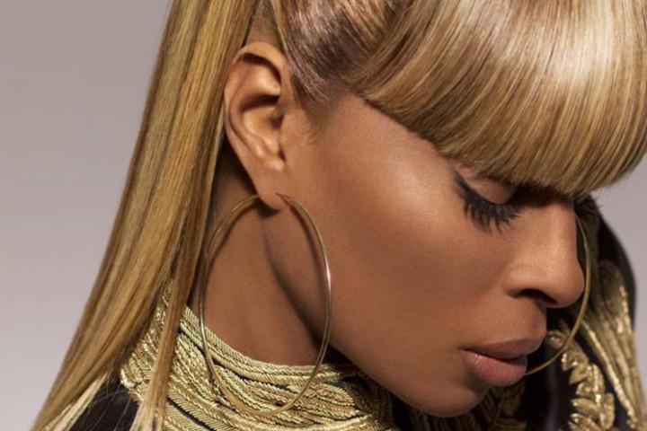 Mary J Blige Universal Webgrafik