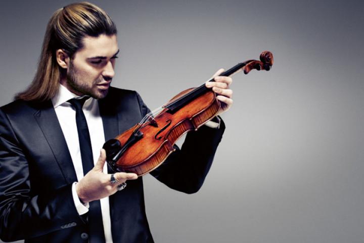 David Garrett mit seiner Violine 2011