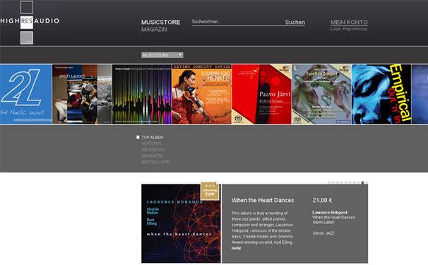 Meisterwerke der Klassik erstmals als Studio-Master Download bei HIGHRESAUDIO verfügbar