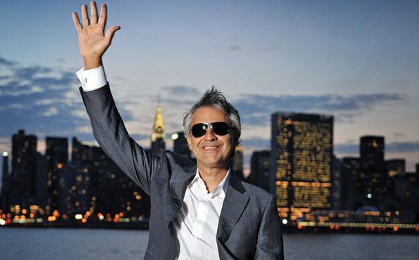 Andrea Bocelli, Jetzt das Album Concerto: One Night in Central Park mit Bonustrack sichern