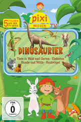 Pixi Wissen TV, 01: Dinosaurier/Elefanten/Hunde/Raubvögel/Gartentiere, 00602527822235