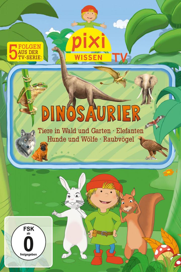 01: Dinosaurier/Elefanten/Hunde/Raubvögel/Gartenti: Pixi Wissen TV