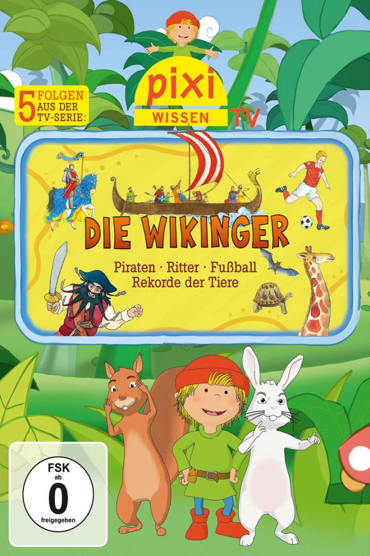 02: Wikinger/Piraten/Ritter/Fußball/Tierrekorde: Pixi Wissen TV