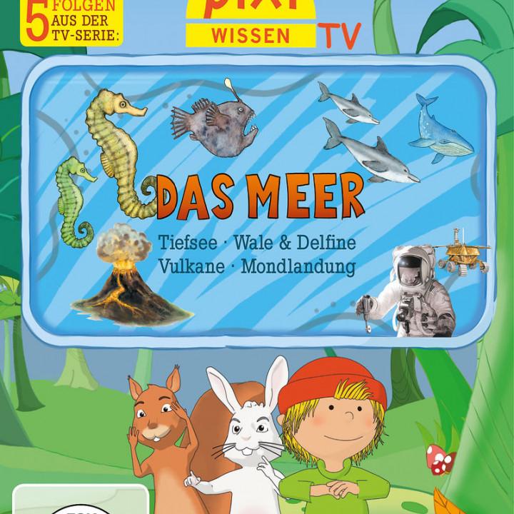 03: Meer/Tiefsee/Wale/Vulkane/Mondlandung: Pixi Wissen TV