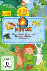 Pixi Wissen TV, 04: Erde/Wetter/Klima/Flugzeuge/Eisenbahnen, 00602527838960