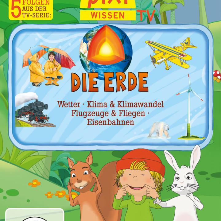 04: Erde/Wetter/Klima/Flugzeuge/Eisenbahnen: Pixi Wissen TV