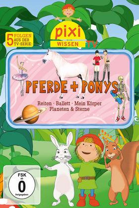 Pixi Wissen TV, 05: Pferde/Reiten/Ballett/Mein Körper/Planeten, 00602527838977