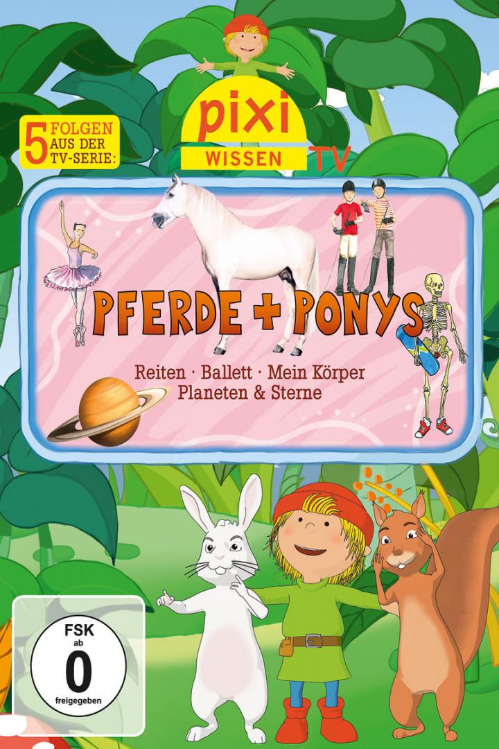05: Pferde/Reiten/Ballett/Mein Körper/Planeten: Pixi Wissen TV