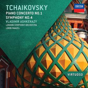 Virtuoso, Tchaikovsky: Piano Concerto No.1; Symphony No.4, 00028947833673