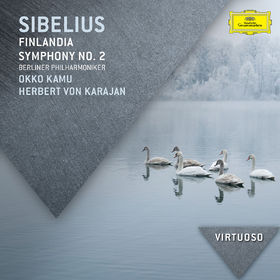 Die Berliner Philharmoniker, Sibelius: Finlandia; Symphony No.2, 00028947833734