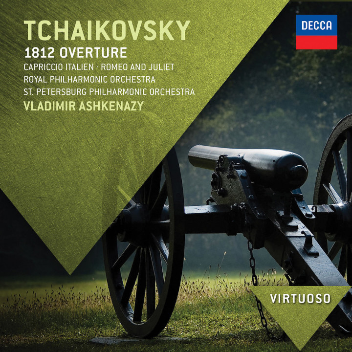 Tchaikovsky: 1812 Overture; Capriccio Italien; Romeo & Juliet