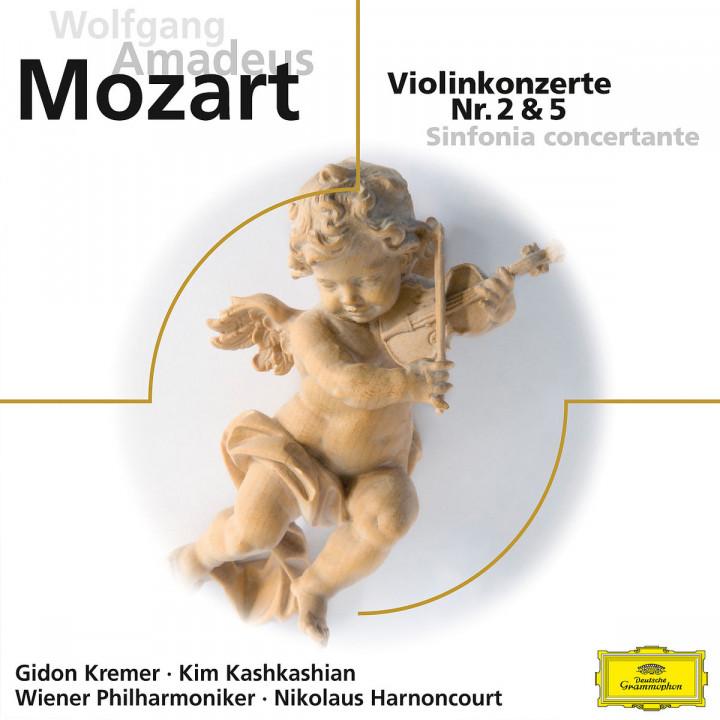 Mozart: Violinkonzerte Nr. 2 & 5, Sinfonia concertante KV 364  (ELO)