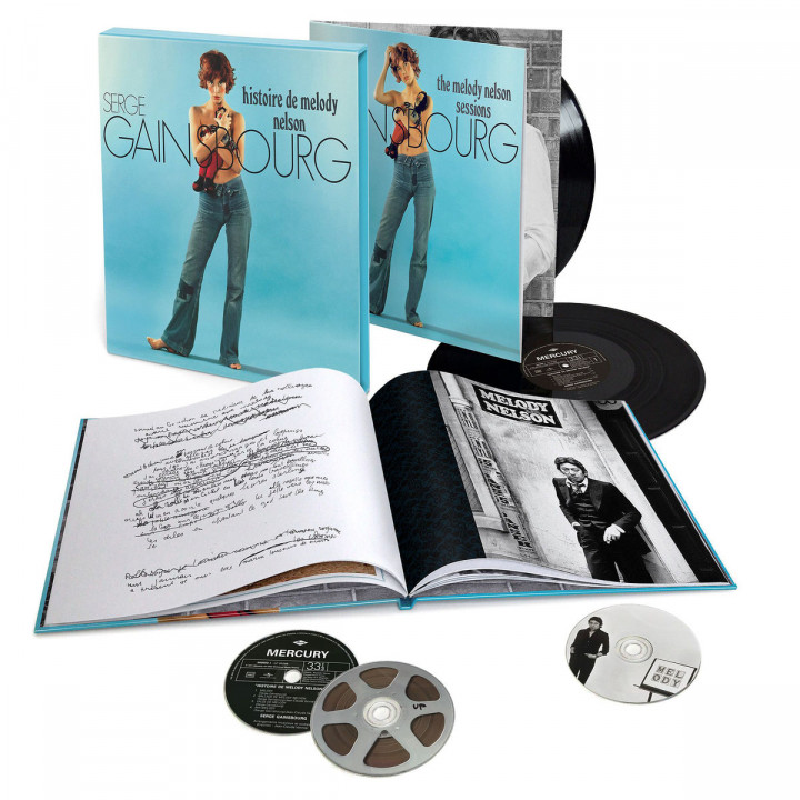 Serge Gainsbourg: Histoire de Melody Nelson als Super-Deluxe-Edition