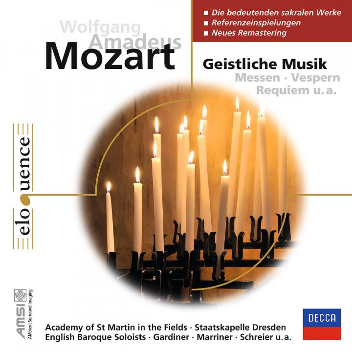 Wolfgang Amadeus Mozart: Geistliche Werke (ELO)