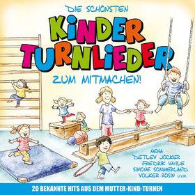 Kinderlieder, Die schönsten Kinderturnlieder zum Mitmachen, 04260167470382