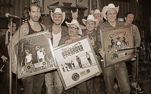 The BossHoss, Gold und Platin für die City-Cowboys von der Spree
