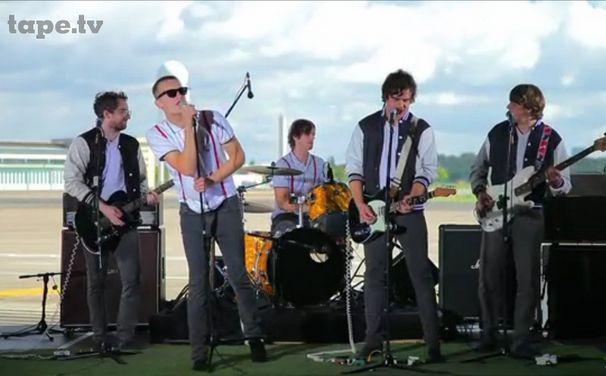 Kraftklub, Video: Kraftklub Auf den Dächern von tape.tv