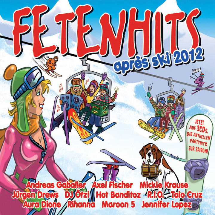 Fetenhits Apres Ski 2012: Various Artists