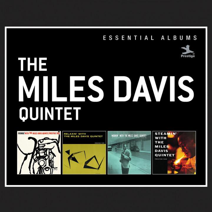 Essential Albums:Cookin'/Relaxin'/Workin'/Steamin': Davis,Miles Quintet
