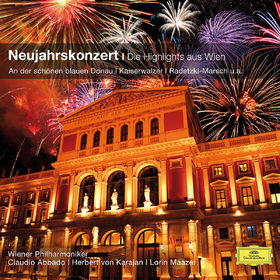 Claudio Abbado, Neujahrskonzert - Highlights aus Wien, 00028948059362