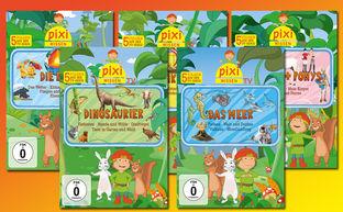 Pixi Wissen TV, Gewinne 5 DVDs von Pixi Wissen TV