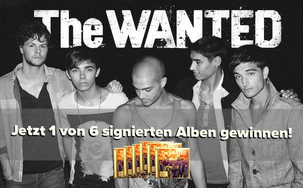 The Wanted, Gewinne 1 von 6 handsignierten Battleground-Alben