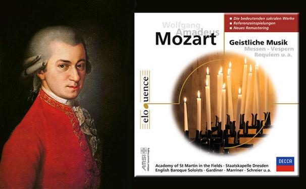Wolfgang Amadeus Mozart, Das fromme Werk Mozarts