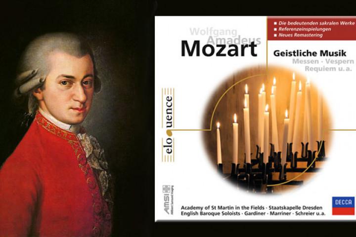 Eloquence Geistliche Werke Mozart